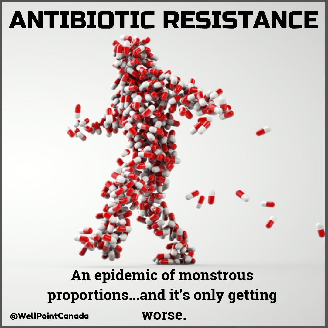 ANTIBIOTIC RESISTANCE…AN EPIDEMIC OF MONSTROUS PROPORTIONS